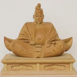『木彫りの天神様』が仕上がってきました。