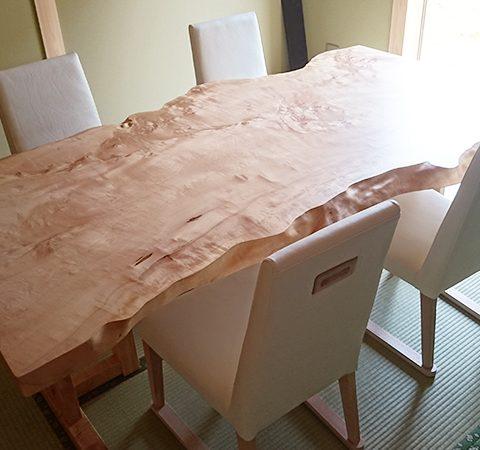 一枚板 栃テーブル