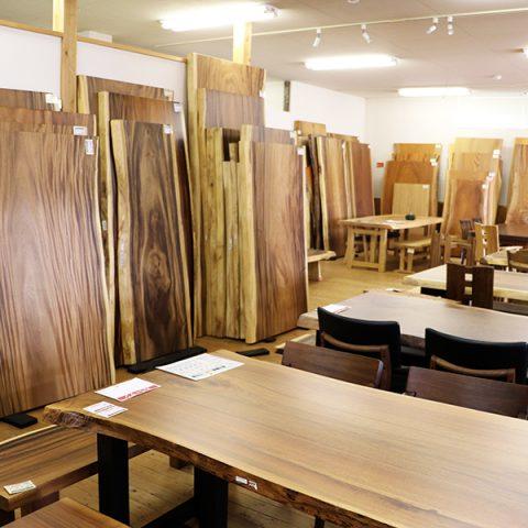 一枚板テーブル 天然木ギャラリー