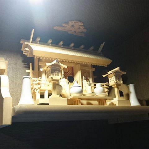 神棚 ヒノキ三社セット