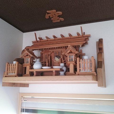神棚セット 欅