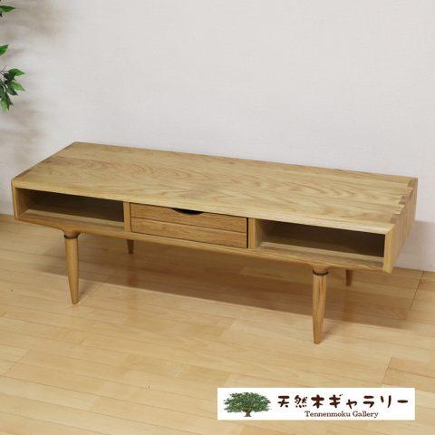 センターテーブル MOKU ナラ無垢