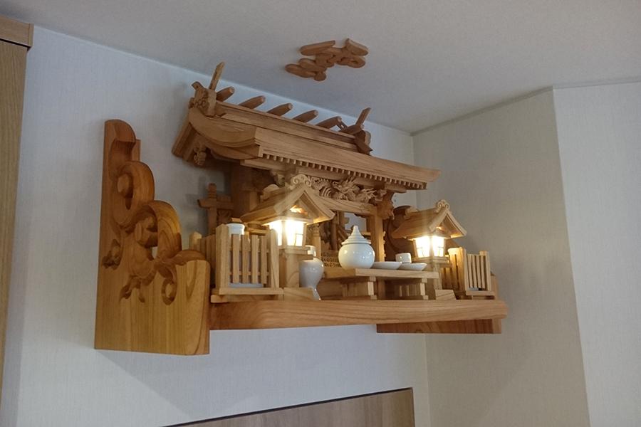 総欅神棚セット