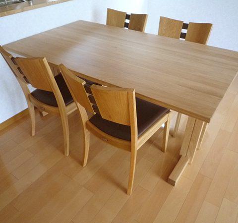 天然木テーブルセット
