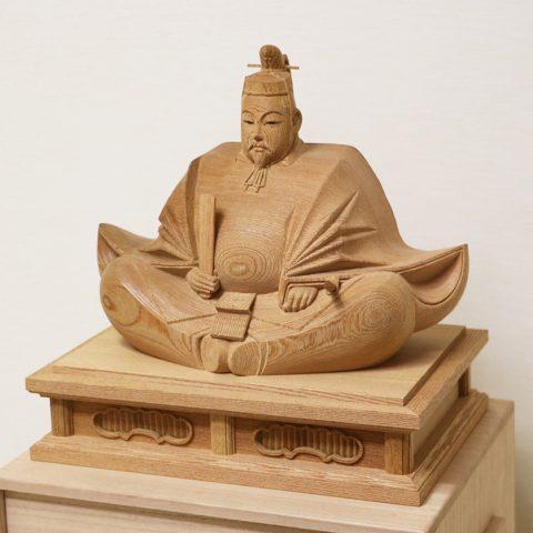 天神様 木彫り