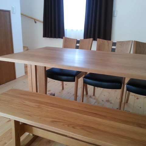 天然木 テーブルセット