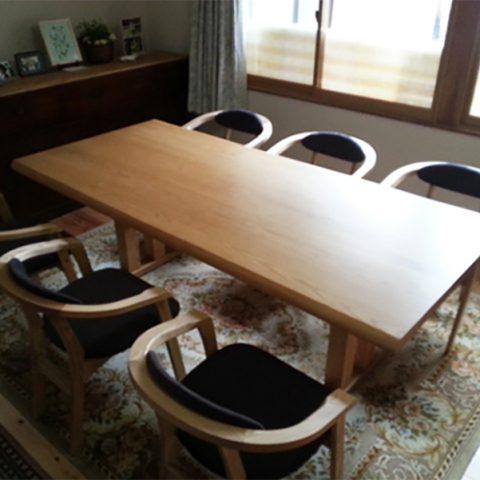 天然木 テーブル