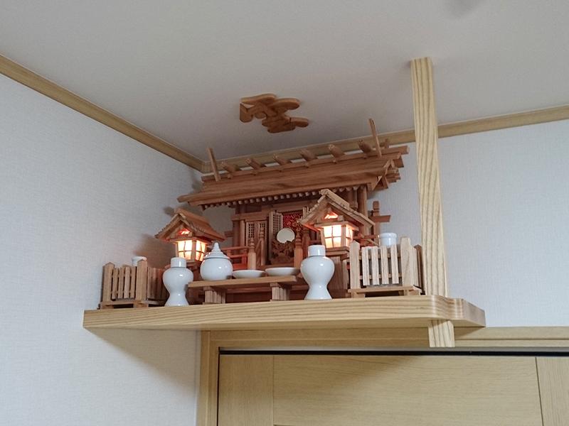 欅 神棚セット