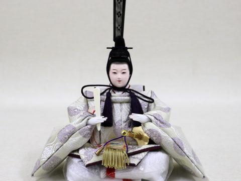 収納親王飾り 心絆 ひな人形