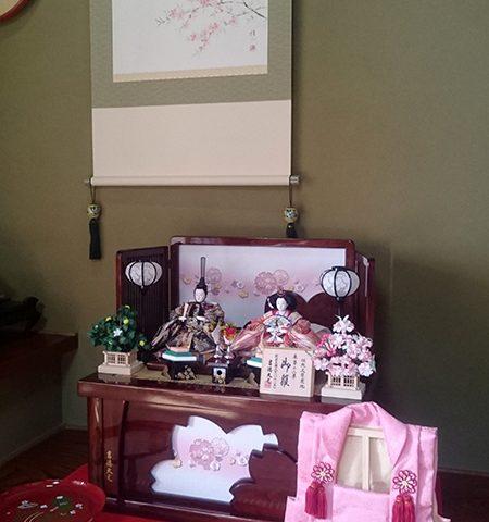 吉徳大光 ひな人形 収納飾り