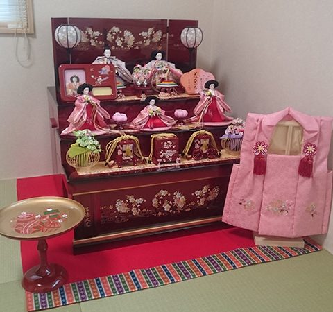 吉徳飾り大光 ひな人形 収納飾り