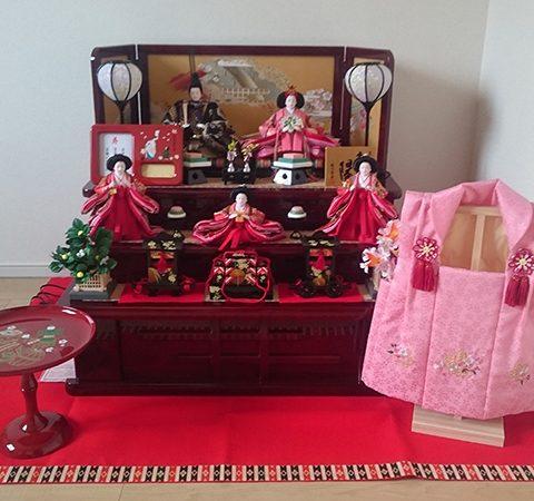 東玉 ひな人形 収納飾り