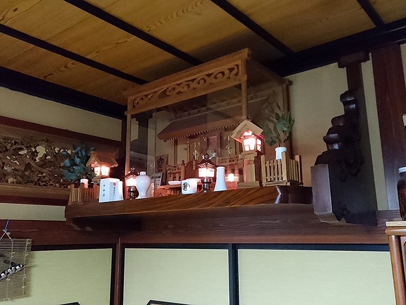 欅の神棚 棚板
