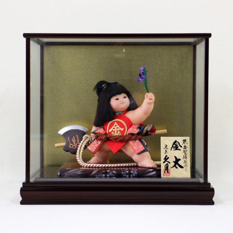 五月人形 久月 裸金太ケース飾り