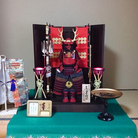 真田幸村 公 大鎧飾り 久月
