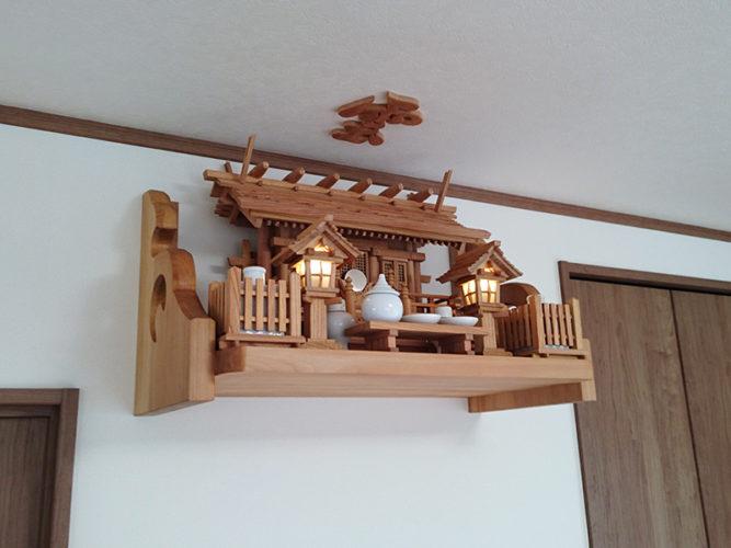 欅の神棚セット