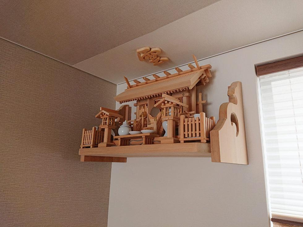 神棚セット 白木