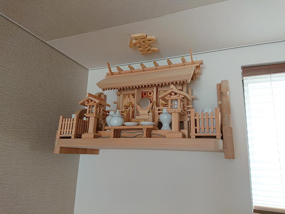白木の神棚セット
