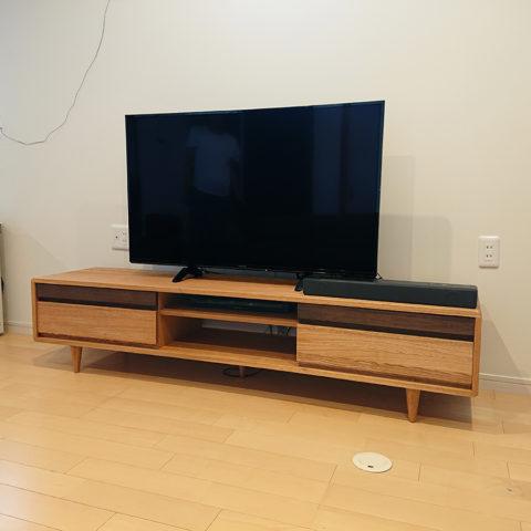 無垢のテレビボード シンフォニー