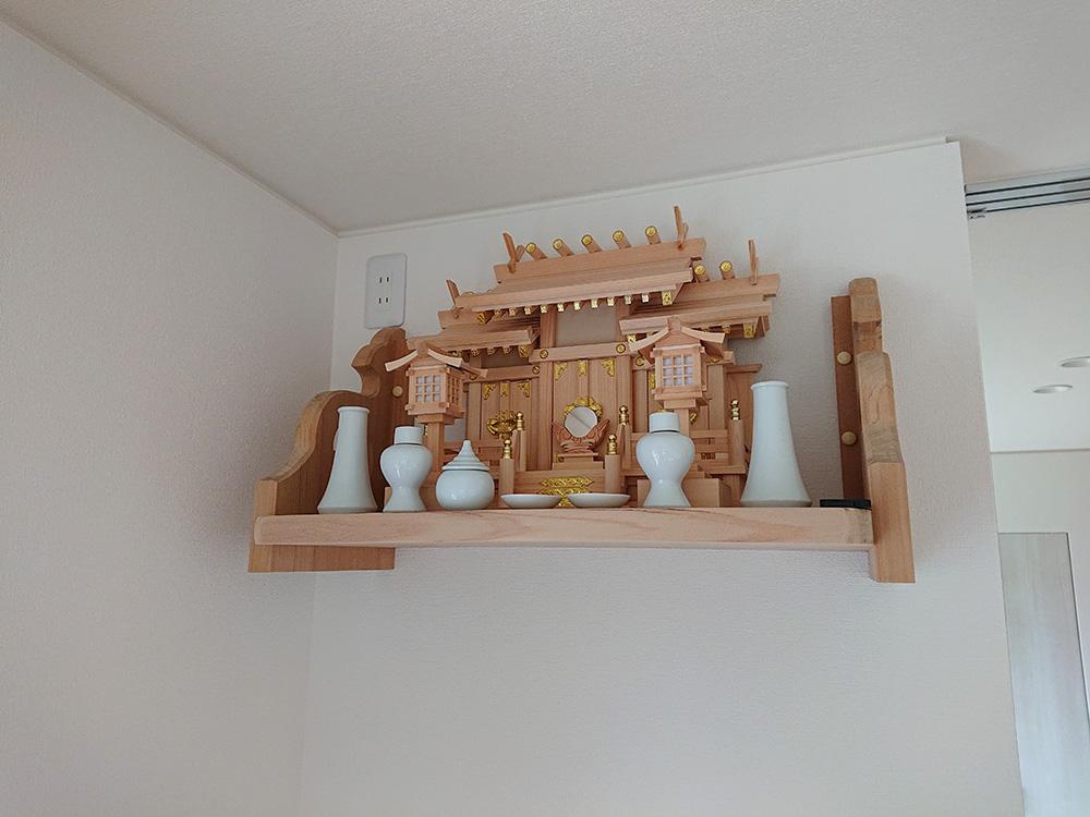 ヒノキ 神棚