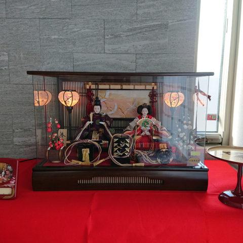 吉徳 親王ケース飾り ひな人形