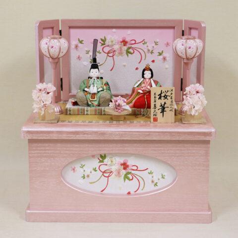 木目込み人形 収納飾り