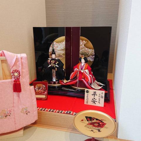 京雛 立親王飾り ひな人形