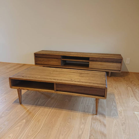 シンフォニー テレビボード リビングテーブル