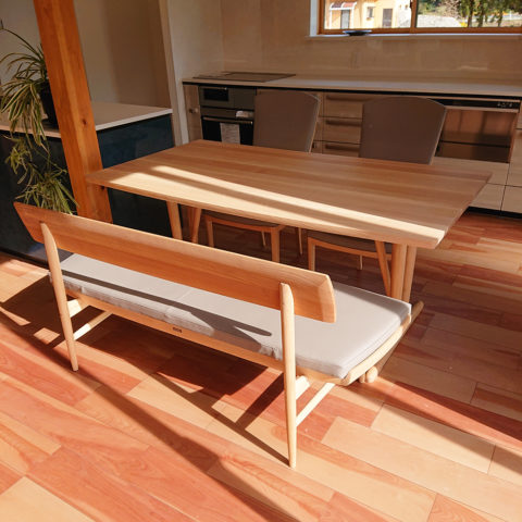 カリモクのダイニングテーブルセット
