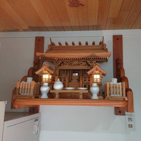 総欅 神棚セット