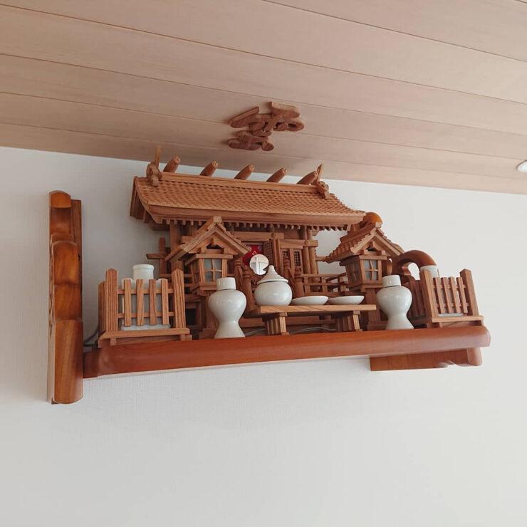 神棚セット 総欅神棚