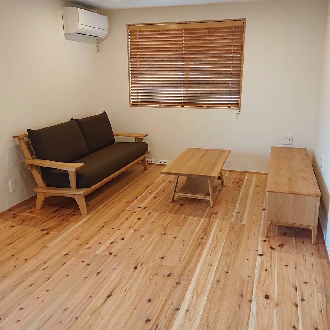 天然木の家具