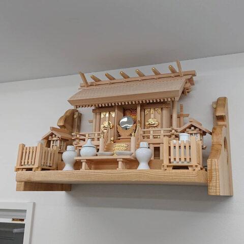 白木 神棚セット